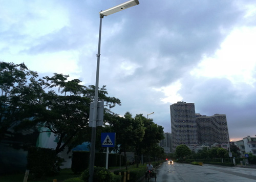 Hitechled 40w integrated solar LED street light