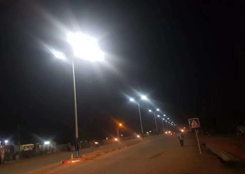 A2 60w integrated LED solar street light