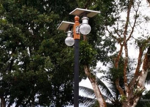 all in one solar area light