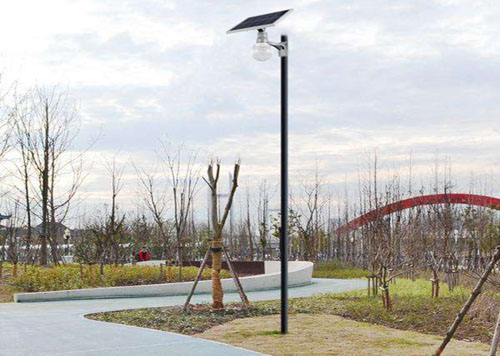 all in one solar garden light