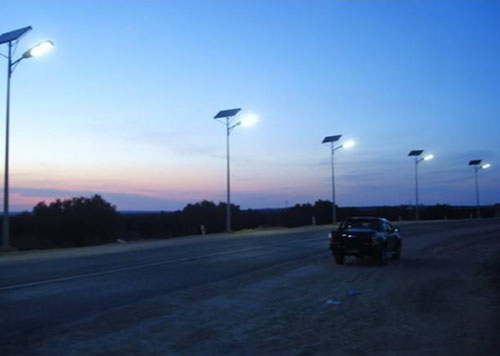 split led solar street lamp